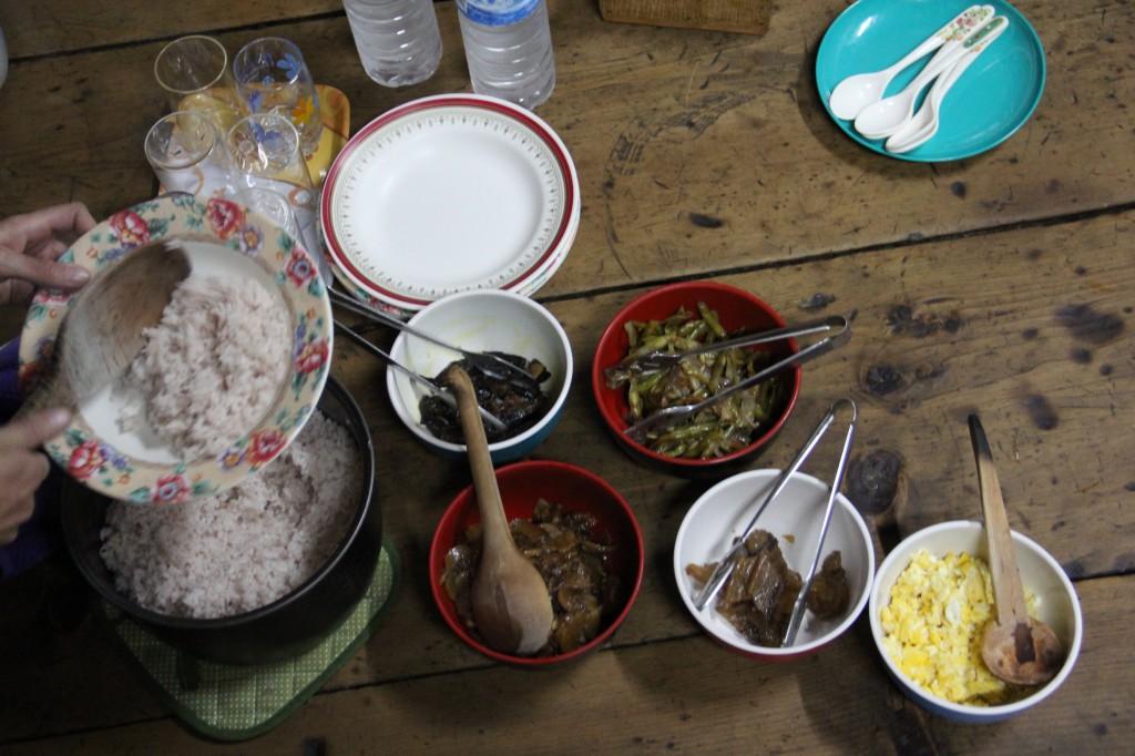 Rijst: 3 x per dag!