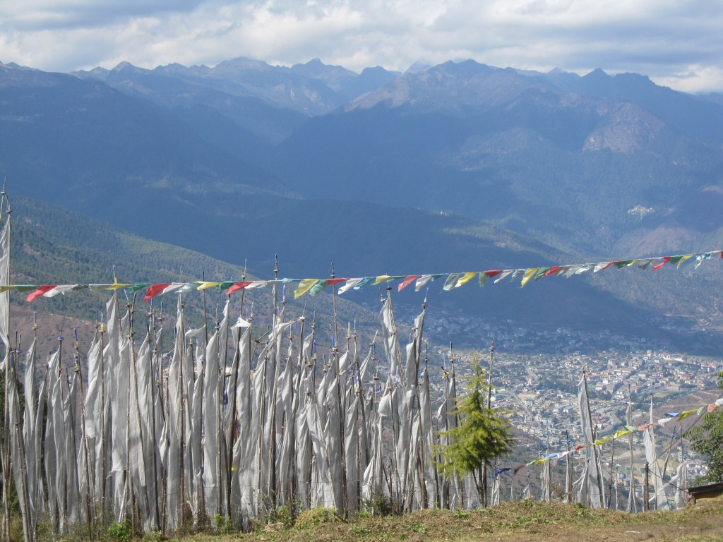Panorama Thimphu